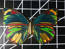 Beautiful Moveable Butterfly Geocoin Pathtag 2010
