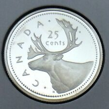 2002 Canada Proof 25 Cents Quarter Canadian Uncirculated Coin E894