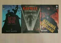 DC Comics Batman Grendel Lot Devil's Riddle, Devil's dance, black white and red
