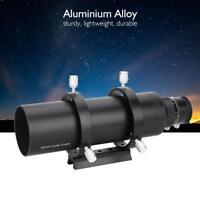 60mm Double Helical Guide Scope Finderscope Mount Bracket for AstronomyTelescope