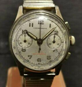 Gents Vintage Chronographe. Chronograph. Landeron 48. Fully serviced.