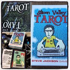 Silicon Valley Tarot Steve Jackson Games Tarot Cards Computer GEEK 1998 OOP