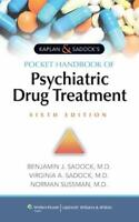 Kaplan & Sadock's Pocket Handbook of Psychiatric Drug Treatment by Sadock, Be…