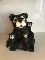 Nice Sculpture Collection Mommy Bear and 3 Cubs