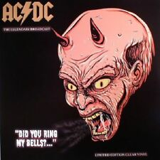 AC/DC - Did You Ring My Bells? - The Legendary Broadcasts - Clear  Vinyl LP NEW