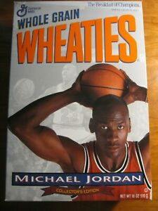 NEW Full 1994 Wheaties Box Michael Jordan Collector's Edition Chicago Bulls *rp