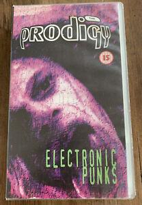 The Prodigy Electronic Punks VHS Tape - VGC - Free UK PP