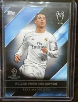 2017 Topps Cristiano Champions League Ronaldo Pulled from the Depths Real Madrid