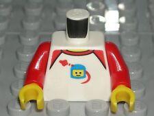 LEGO CITY MINIFIGURE TORSO Classic Space Helmet Red Arms 60134