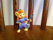 Chip & Dale Rescue Rangers Gadjet Mouse figure Kellogg's Cereal Premium RARE Toy