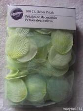 Wilton Sage Green Rose Shaped Petals 300 Wedding Party Decorations