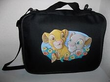 TRADING PIN BAG FOR DISNEY PINS SIMBA AND NALA LION KING FLOWERS MED/LARGE Book