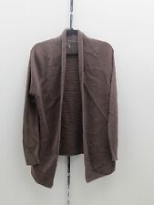 Vince Camuto Ribbed Knit Cardigan - Large - Taupe