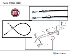 NEW GENUINE NS LEFT SIDE GEAR CHANGE CABLE FIAT PUNTO MK2 55194775 LINK LINKAGE
