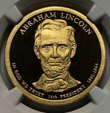 2010 S NGC PF69 Ultra Cameo ~ Abraham Lincoln 16th US President Proof Dollar $1