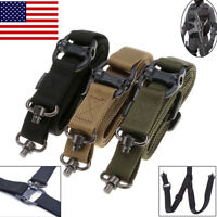 USA Retro Tactical Quick Detach QD 1 or 2 Point Multi Mission Rifle Sling Nylon