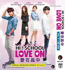 DVD Korean Drama Hi! School Love ON Complete Series (1-20 End) English Subs NEW