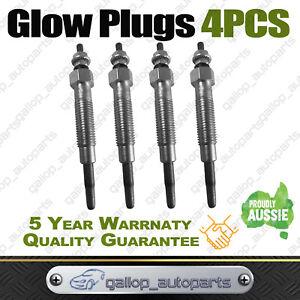 4 Glow Plugs for Mitsubishi Pajero NL 2.8L 4M40T Turbo Diesel Engine TRITON MK