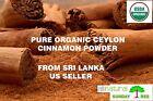 1 LB ALL NATURAL ORGANIC PURE Premium CEYLON Cinnamon Powder, SRI LANKA