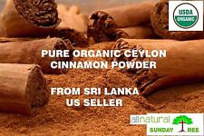 1 LB ALL NATURAL ORGANIC PURE Premium CEYLON Cinnamon Powder, SRI LANKA