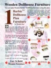 Barbie Dollhouse Plan Furniture (Paperback or Softback)