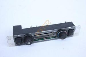 Porsche 944 Climate Heater Control Panel Switch