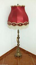 Französische Stehlampe Jugendstil schwer Bronze um 1920 selten antik
