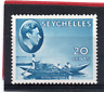 Seychelles GV1 1938-49 20c blue (chalk). sg 140 LH.Mint