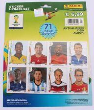 Panini World Cup 2014 Brasil - Set 71 update stickers