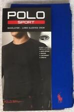 Polo Sport by Ralph Lauren Base Layer Long Sleeve Crew Large 42-44 Blue -0443