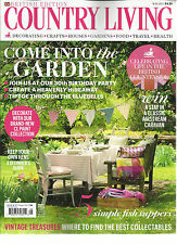 COUNTRY LIVING MAGAZINE,   BRITISH EDITION   MAY, 2015  (COME INTO THE GARDEN )