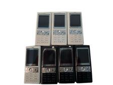 7 Lot Alcatel OT-C550A Personal Cellular Phone Camera Locked Basic Bar Low End
