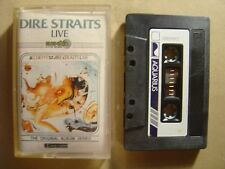 DIRE STRAITS alchemy live VERY RARE SINGAPORE CASSETTE*DIFFERENT TRACKS SEQUENCE