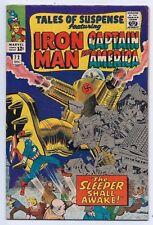 Tales of Suspense 72 Vf+ 8.5 Silver Age Iron Man Captain America *