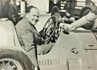 REG PARNELL IN MASERATI AT GOODWOOD VINTAGE PHOTOGRAPH