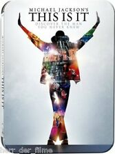 Michael Jackson's THIS IS IT (2-Disc Special Steelbook Edition) NEU+OVP