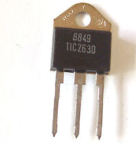 1 St. TIC 263D  TRIAC  25A - 400V orginal Texas Instruments
