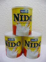 3 x 400 G Nestlé Nido Lait en Poudre de Boisson Instantanée