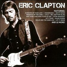 Audio CD: ICON [2 CD], Eric Clapton. Very Good Cond. . 600753329269