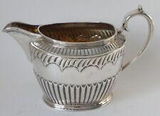 Silver sterling Cream / Milk JUG London 1884 7.34 troz / 228.3g Stephen Smith