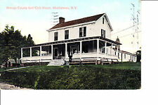 Middletown, NY  Orange County Golf Club House  @ 1906