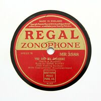 "GENE AUTRY ""You Are My Sunshine"" (E+) REGAL ZONOPHONE MR-3588 [78 RPM]"