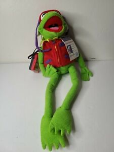 Macy's Kermit The Frog Official Frog-Tographer Camera Plush Doll With Camera