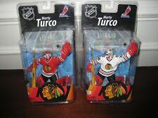 MCFARLANE NHL 27 MARTY TURCO SILVER LEVEL CHASE VARIANT #329/750 LOT BLACKHAWKS