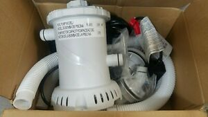 Summer Waves RX600 Swimming Pool Filter Pump For Above Ground Pools