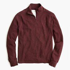 Unopened Nwt J. Crew Men'S Double Knit Half Zip Long Sleeve Pullover / Medium M