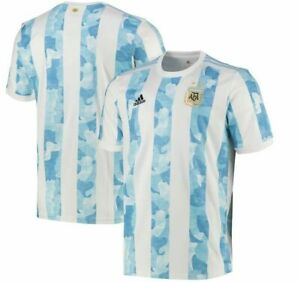 Argentina Home 2021/22 Football jersey Adult Size Soccer Shirts BNWT