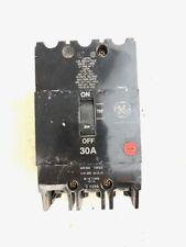 General Electric Circuit Breaker 3 pole, TEY, 30 Amp, 480Y /277 volt