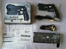 PlayStation NAMCO GunCon 2 Light Gun Controller & AV Cable PS2 NPC-106
