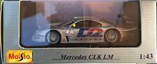 36- Mercedes CLK-LM - MAISTO - 1:43- Neuf dans boite d'origine